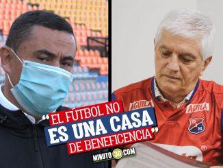 Arley Cardona analiza el cambio de entrenador del Medellin 1
