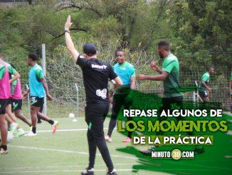 Asi son los entrenamientos de Nacional en la era de Alejandro Restrepo 1