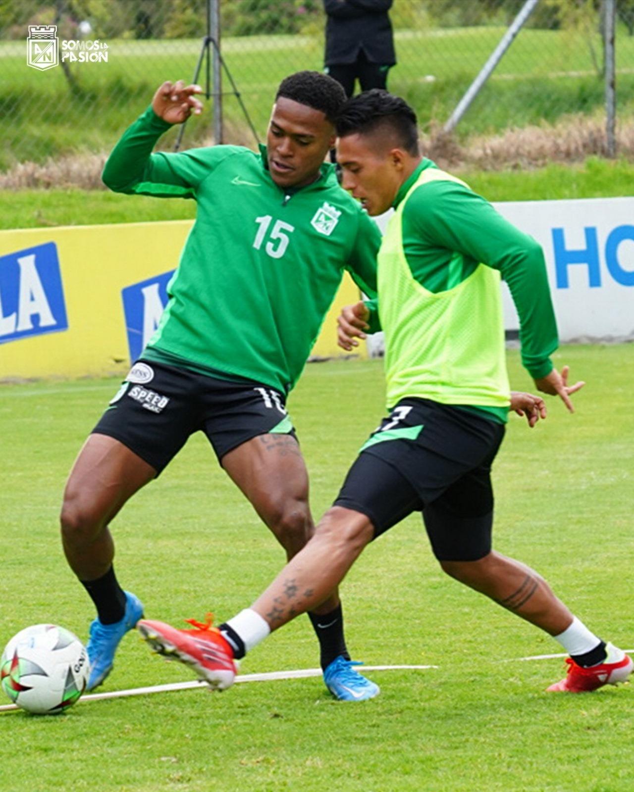 Atletico Nacional entrenamiento en Bogota 1