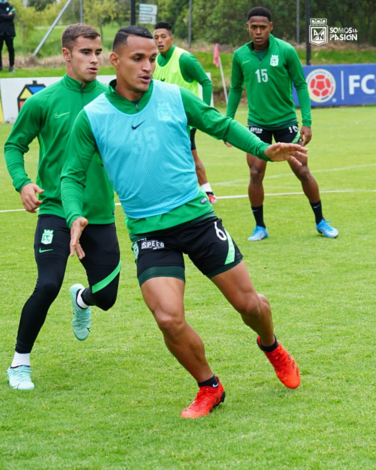 Atletico Nacional entrenamiento en Bogota 2