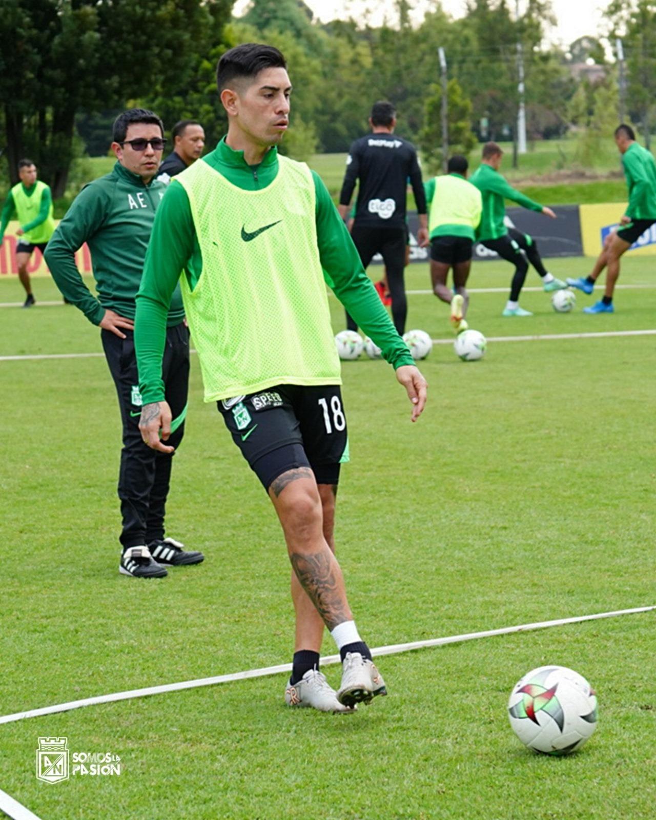 Atletico Nacional entrenamiento en Bogota 3