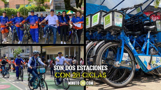 ¡Qué maravilla! Bello ya cuenta con nuevas estaciones de bicicletas disponibles para la ciudadanía
