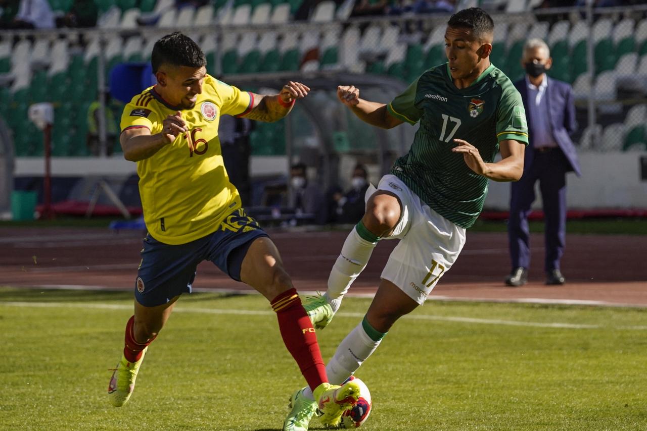 Bolivia vs Colombia fecha 9 de las Eliminatorias 1