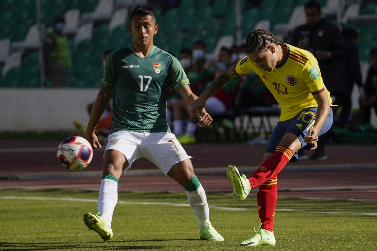 Bolivia vs Colombia fecha 9 de las Eliminatorias 2
