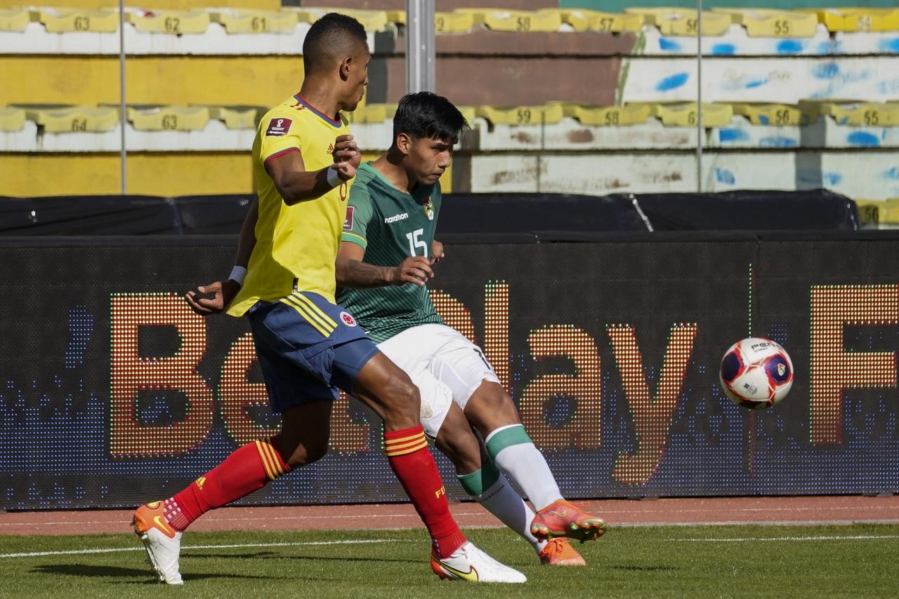 Bolivia vs Colombia fecha 9 de las Eliminatorias 3