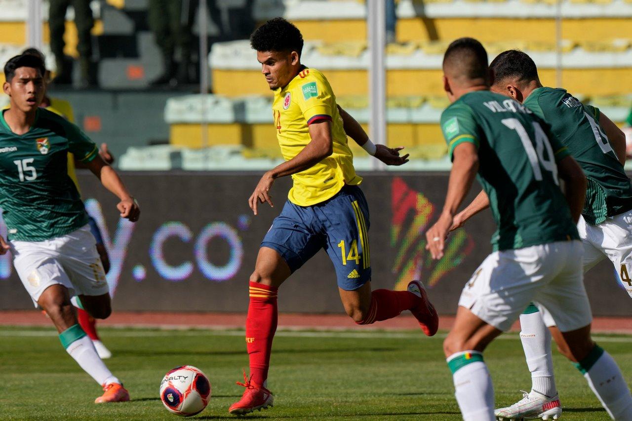 Bolivia vs Colombia fecha 9 de las Eliminatorias 4