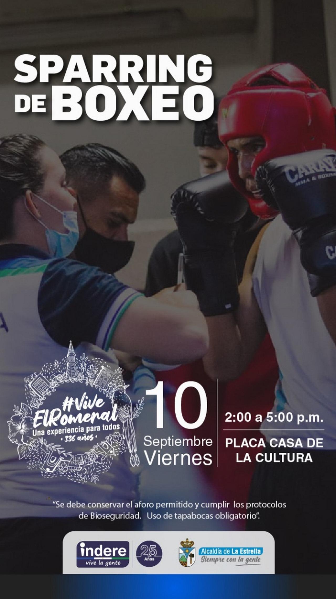 Boxeo en La Estrella