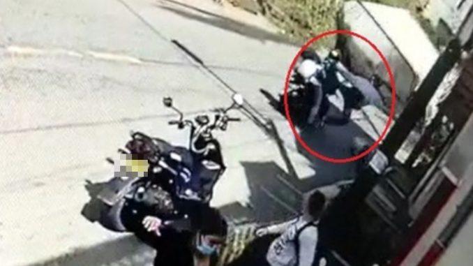 [Video] Momento exacto en el que se volcó el camión en el barrio Caicedo