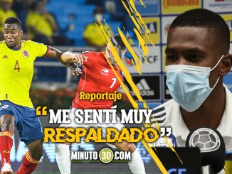 Carlos Cuesta compartio las sensaciones de su debut en Eliminatorias