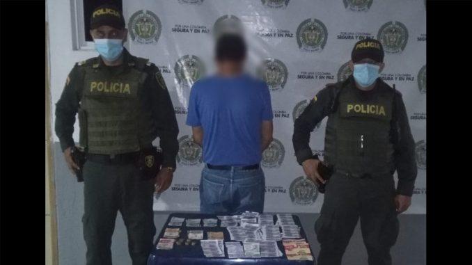 Capturaron a este hombre acusado de vender chance ilegal
