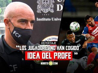 Choto Cortes analizo el presente de Independiente Medellin