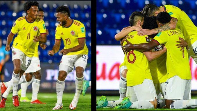 [Fotos] Colombia se adueñó del balón y logró rescatar un punto ante Paraguay