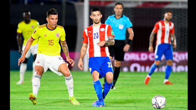 Colombia perdió en el primer tiempo ante Paraguay