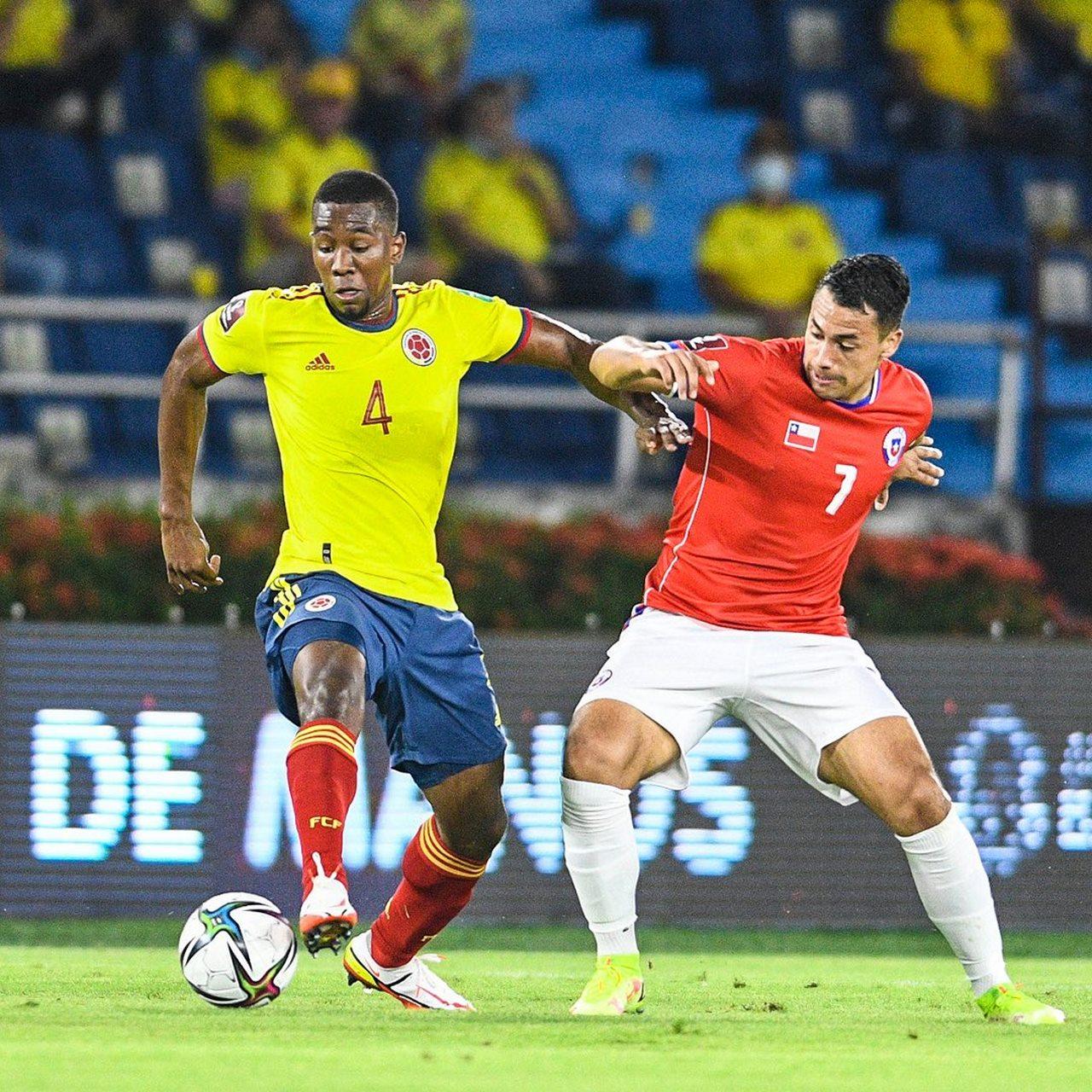 Colombia vs Chile 10