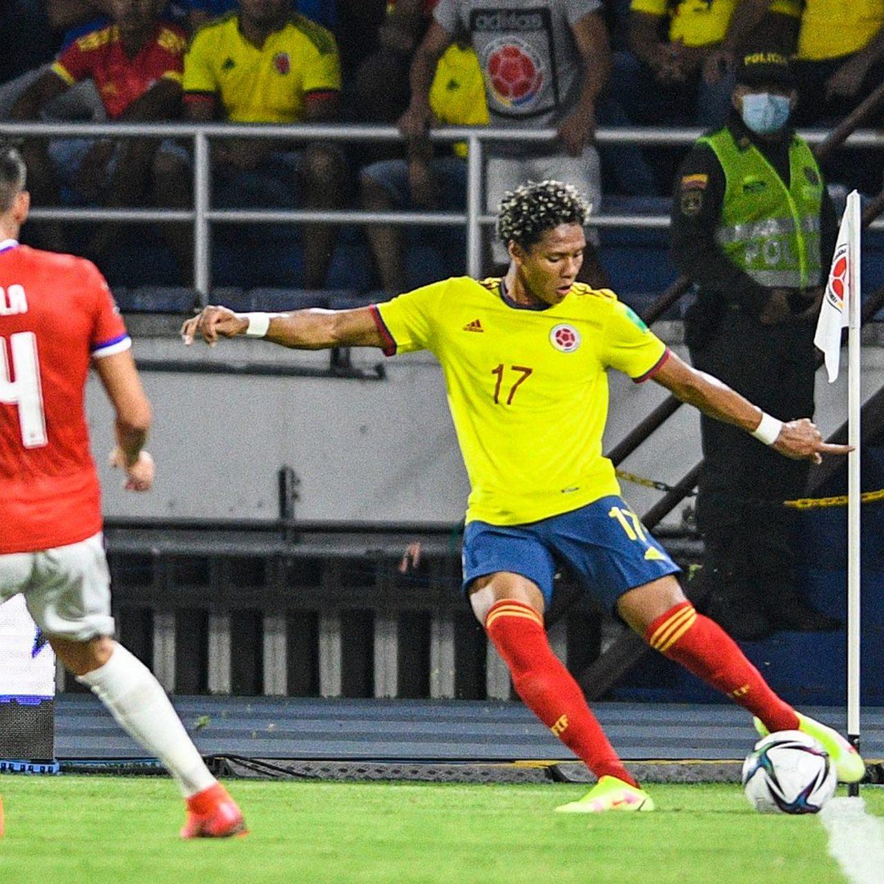 Colombia vs Chile 7