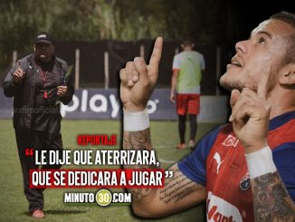Contundente mensaje de David Montoya hizo pellicar a Leonardo Castro 1