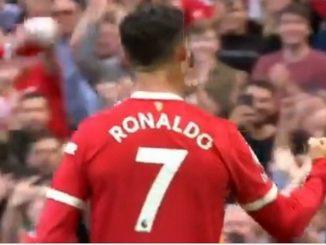 Cristiano Ronaldo en su regreso al United