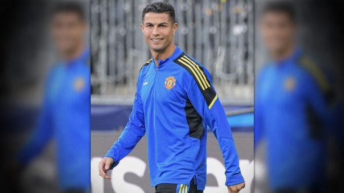 Con un pelotazo Cristiano Ronaldo noqueó a guardia de seguridad