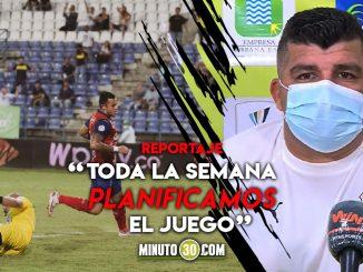 David Montoya atribuyo a la buena preparacion el triunfo ante Jaguares