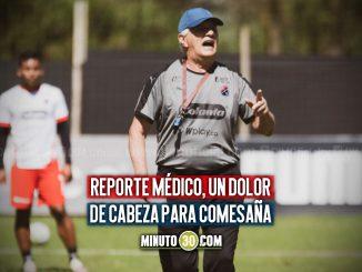 Defensas de Independiente Medellin continuaran en departamento medico
