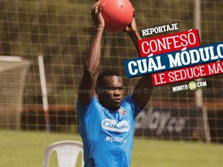 Diber Cambindo promete trabajo sacrificio y goles en Independiente Medellin 1