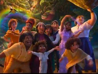 Disney video pelicula animada Encanto