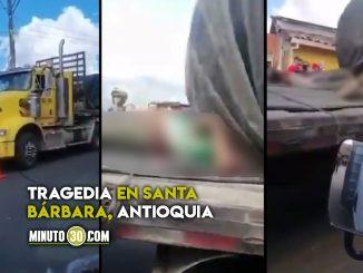 Dos jóvenes murieron aplastados por la carga de un camión