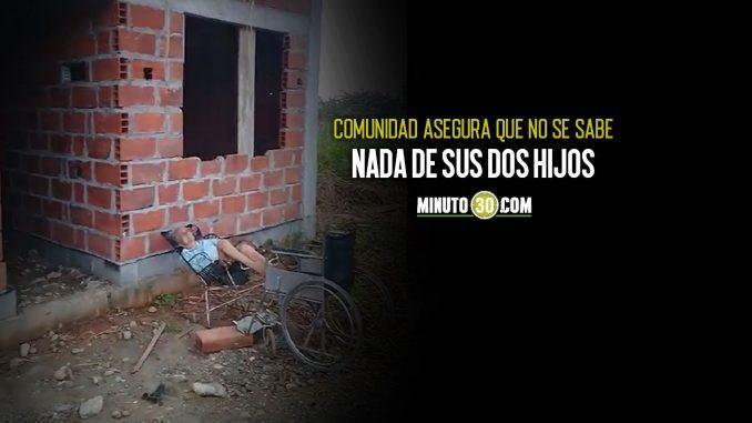 [Video] ¡Desalmados! Encontraron esta abuelita en condición de discapacidad abandonada a su suerte