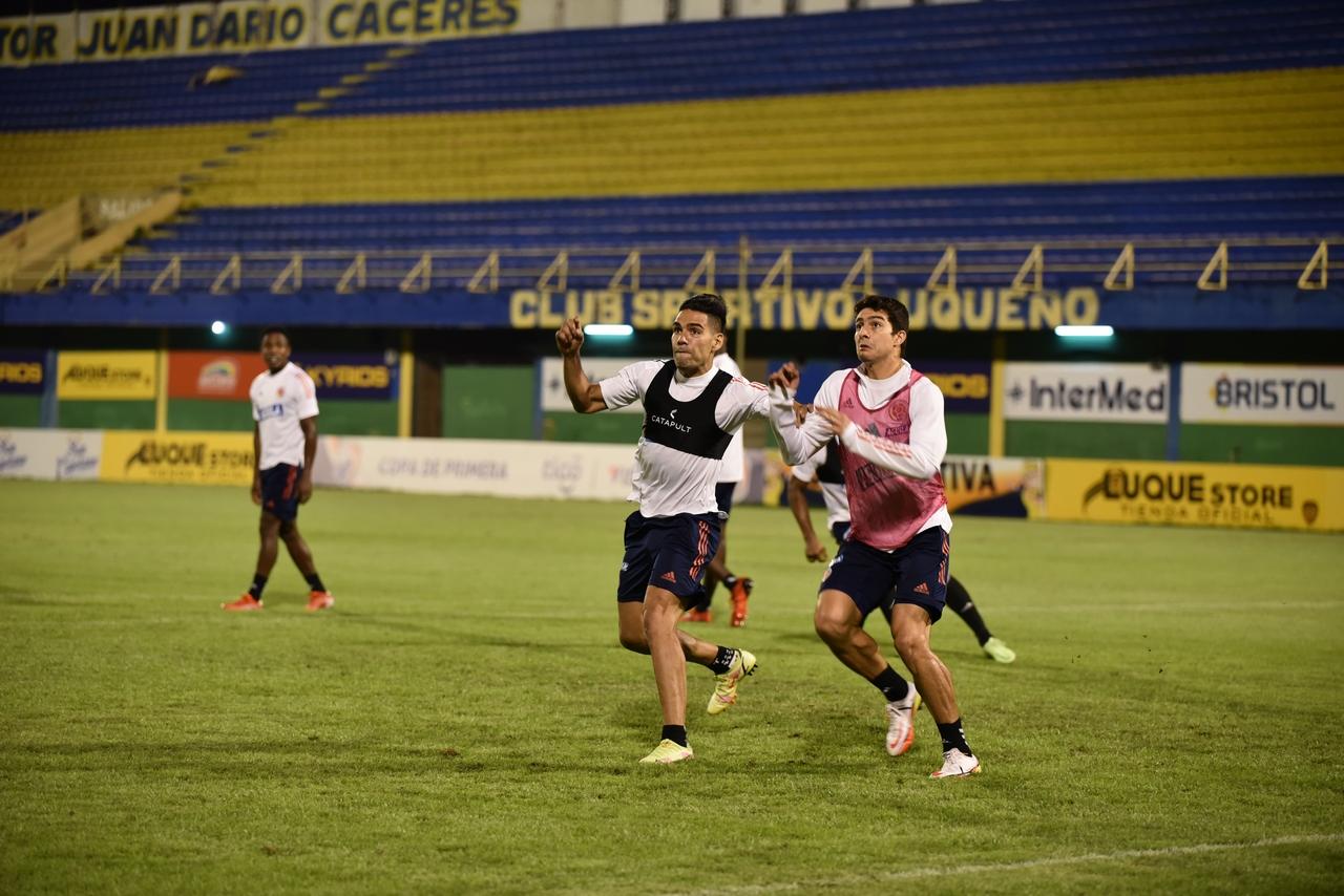 Entrenamiento Seleccion Colombia en Paraguay 8