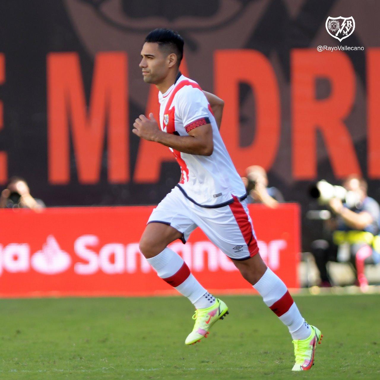 Falcao Garcia debuto con gol en el Rayo Vallecano 1
