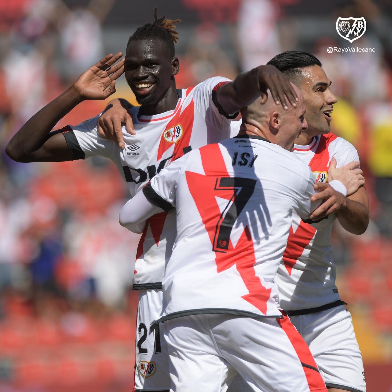 Falcao Garcia debuto con gol en el Rayo Vallecano 4