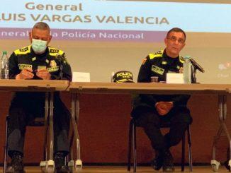 El general Vargas habló de posibles evidencias que indican que el ELN habría financiado a la 'Primera Línea'