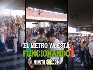 Hubo congestión en algunas estaciones del Metro por inconveniente técnico