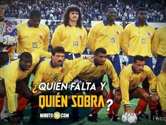 IFFHS dio a conocer el mejor once de la Seleccion Colombia en la historia