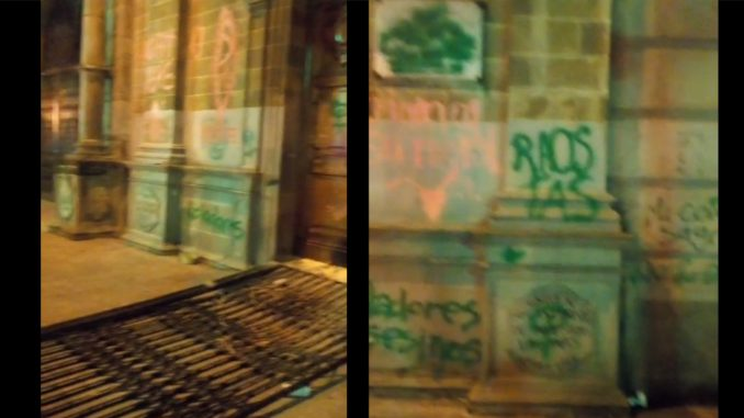 Denuncian que desadaptados vandalizaron una Iglesia en el centro de la ciudad