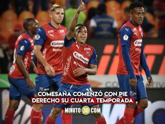 Independiente Medellin derroto a Caldas y se colo entre los ocho