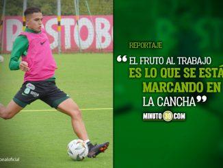 Jonathan Marulanda destaco la evolucion que ha tenido en Atletico Nacional 1