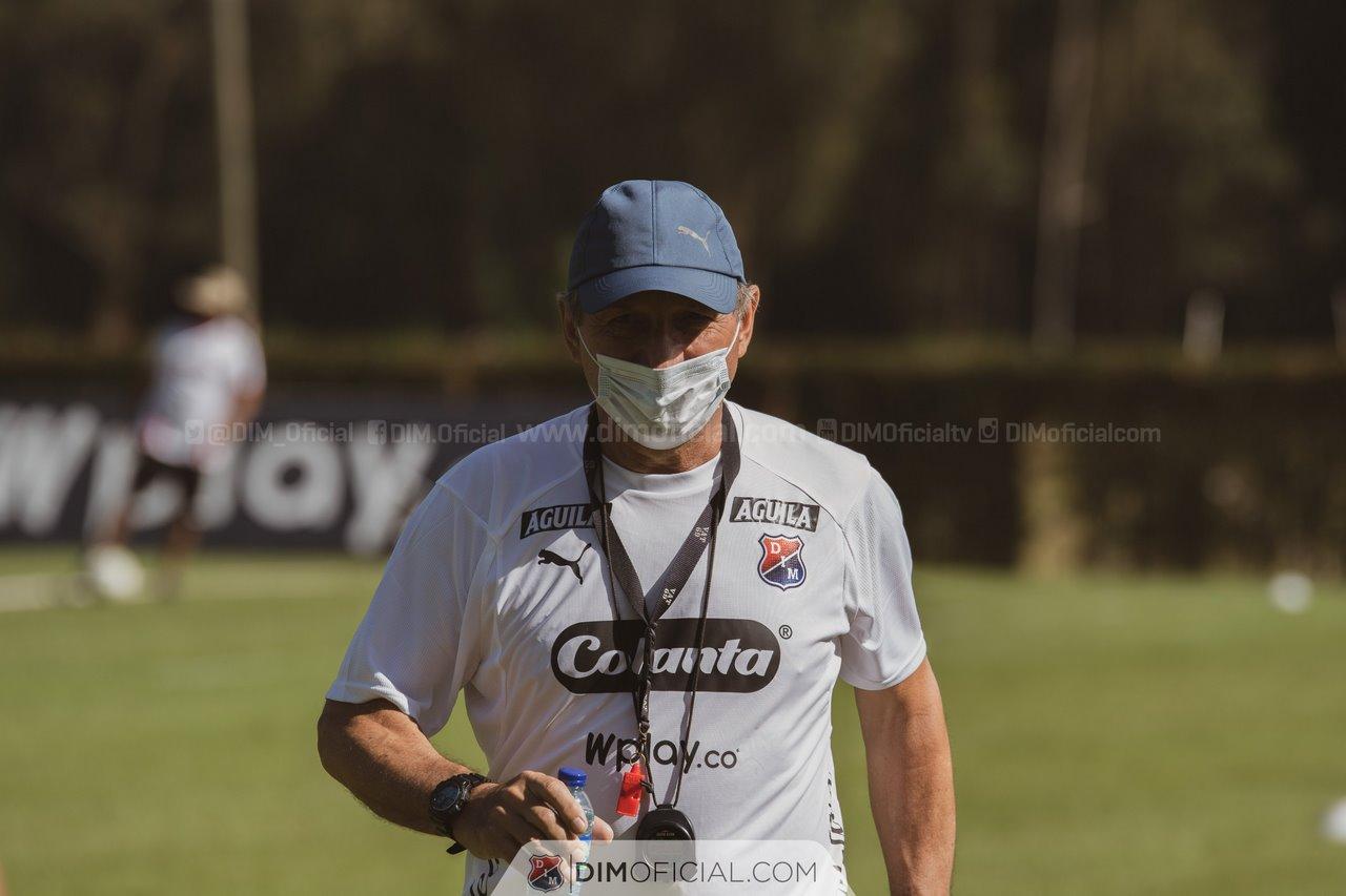 Jorge Franco preparador fisico Medellin