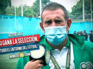 Juan Carlos Ramirez confia en que Colombia lograra sortear la altura