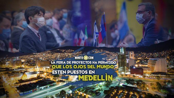 [Video] Ante representantes de 36 países, Medellín propone trasladar el aeropuerto Olaya Herrera