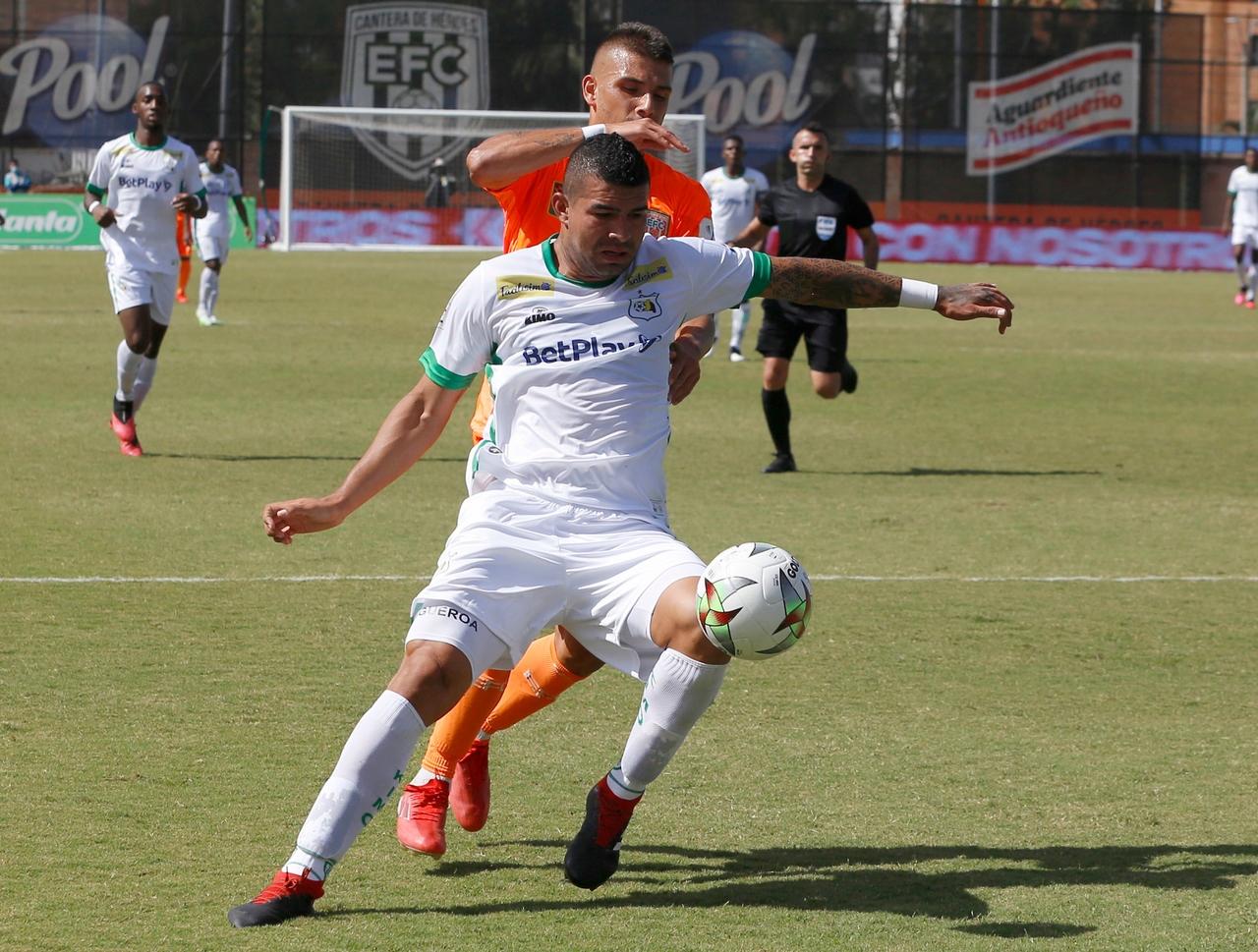 Liga colombiana equipos de Antioquia 2
