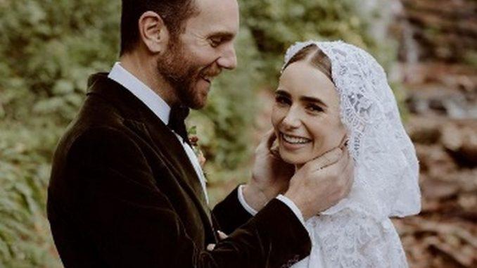 Lily Collins y la boda de cuento de hadas, se casó con Charlie McDowell - Noticias de Colombia