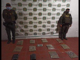 Dejaron 6 kilos de marihuana abandonados en El Poblado