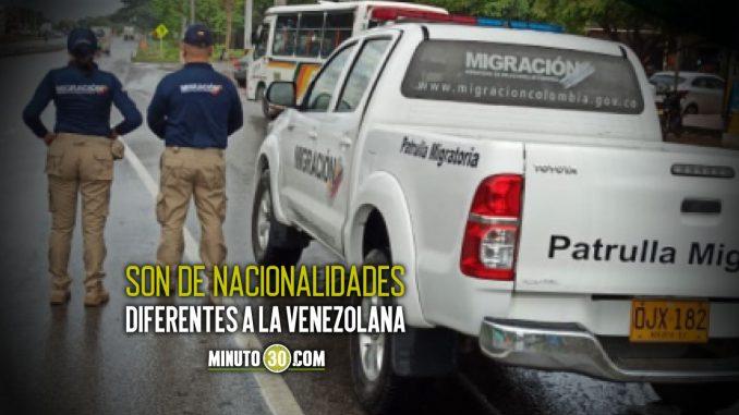Más de 67 mil migrantes Irregulares han sido detectados este año por Migración Colombia