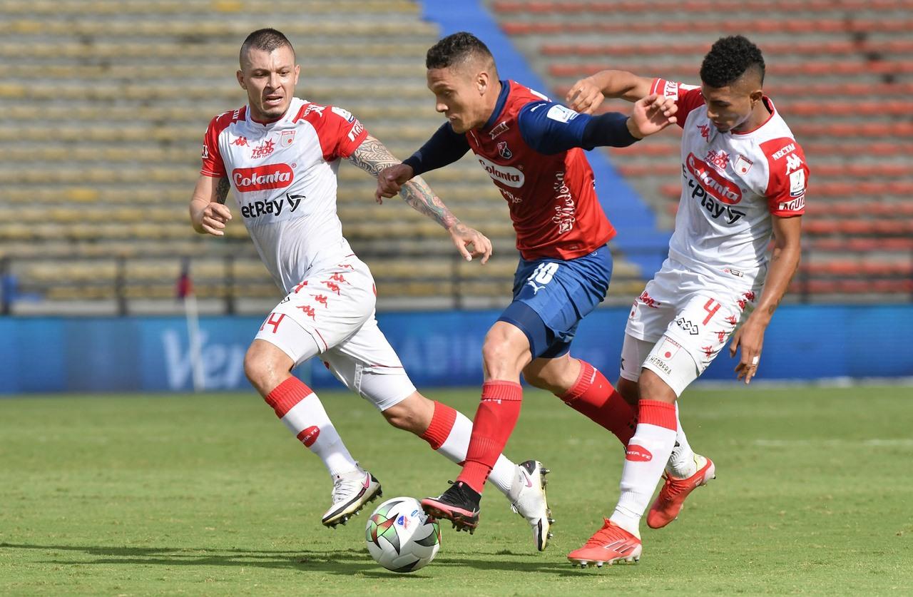 Medellin vs santa fe fecha 8 de la Liga 1