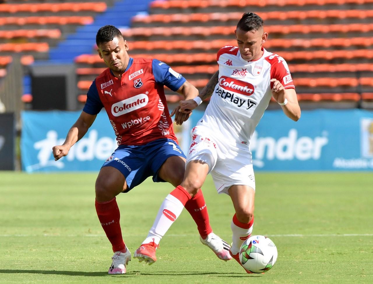 Medellin vs santa fe fecha 8 de la Liga 2