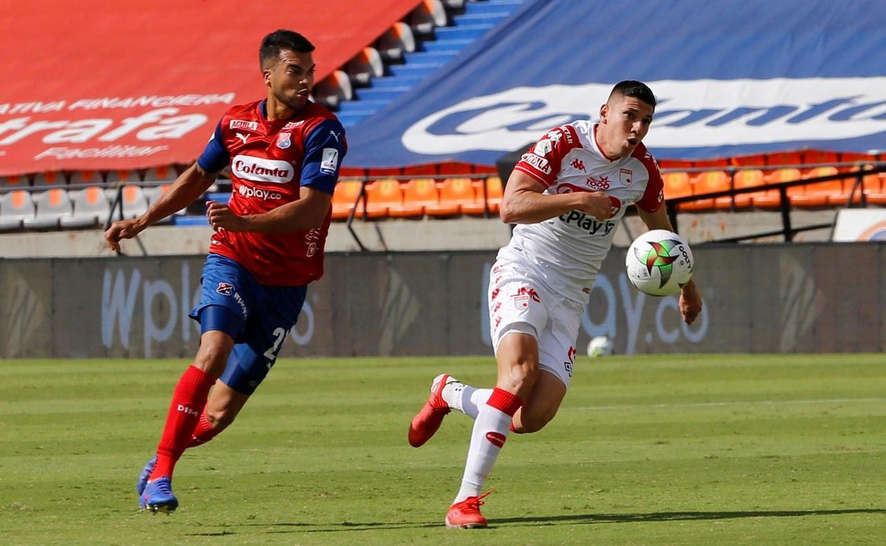 Medellin vs santa fe fecha 8 de la Liga 4