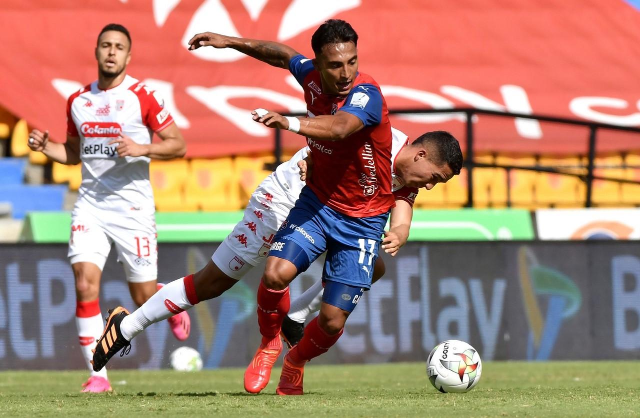 Medellin vs santa fe fecha 8 de la Liga 5