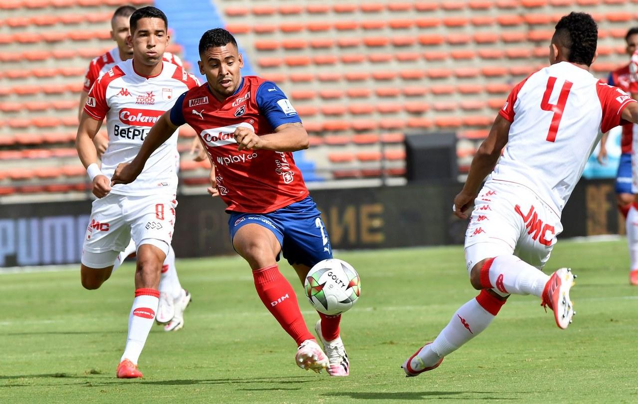 Medellin vs santa fe fecha 8 de la Liga 6