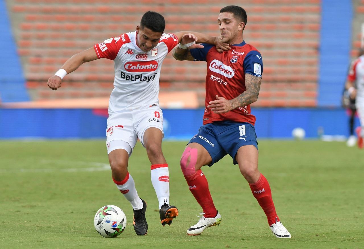 Medellin vs santa fe fecha 8 de la Liga 7